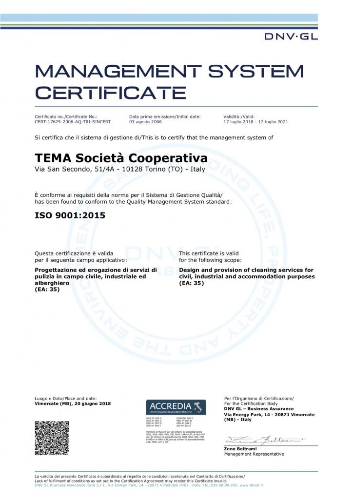 UNI EN ISO 9001-2015_2021